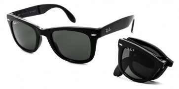 RAY-BAN RB4105 FOLDING WAYFARER MEDIUM (54) Polarizzato