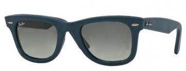 Pelle blu/Grigio sfumato (116871)