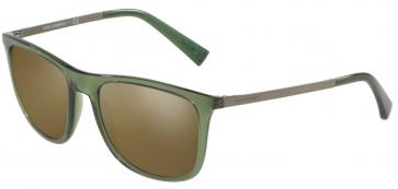 3068Y8-Verde/Marrone Oro Specchiato