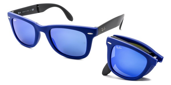 Ray Ban Specchiati Blu