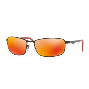 006/6S-Nero/MarroneScuro Arancione Sfumato Polarizzato