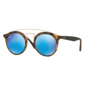 609255-Havana opaco/Verde chiaro specchiato blu