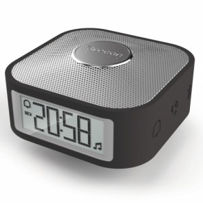 SMART CLOCK CON MUSICA IN BLUETOOTH (NERO)