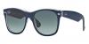 605371-Blu su Trasparente/Grigio Sfumato