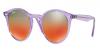6280A8-Viola/Marrone Argento Rosso Specchiato Sfumato